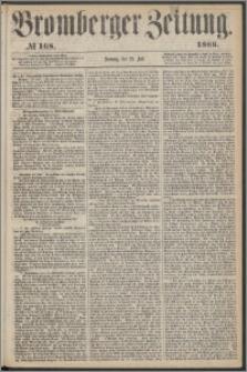 Bromberger Zeitung, 1866, nr 168