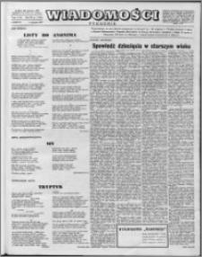 Wiadomości, R. 12 nr 1 (562), 1957