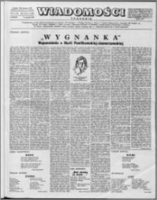 Wiadomości, R. 12 nr 2 (563), 1957