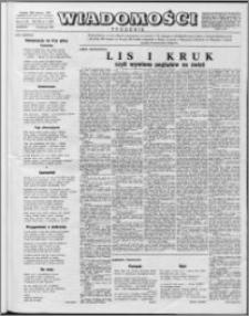 Wiadomości, R. 12 nr 3 (564), 1957