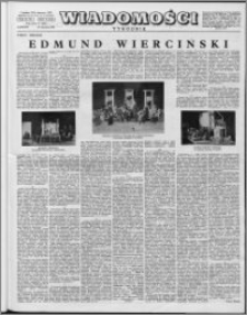 Wiadomości, R. 12 nr 4 (565), 1957