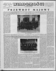 Wiadomości, R. 12 nr 5 (566), 1957