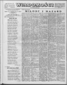 Wiadomości, R. 12 nr 6 (567), 1957