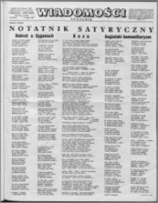 Wiadomości, R. 12 nr 7 (568), 1957