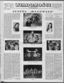 Wiadomości, R. 12 nr 8 (569), 1957
