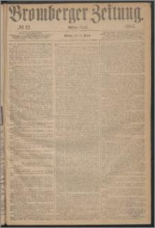 Bromberger Zeitung, 1867, nr 12