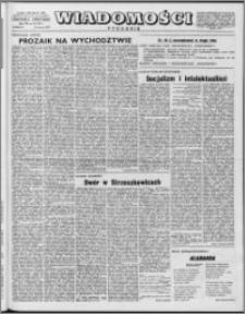 Wiadomości, R. 12 nr 10 (571), 1957