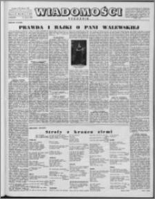 Wiadomości, R. 12 nr 11 (572), 1957