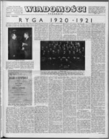 Wiadomości, R. 12 nr 15 (576), 1957
