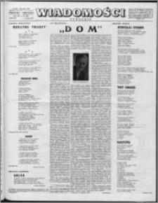 Wiadomości, R. 12 nr 19 (580), 1957