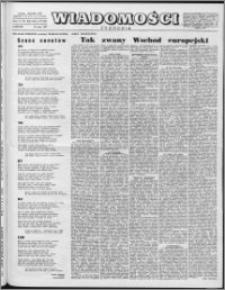 Wiadomości, R. 12 nr 20 (581), 1957