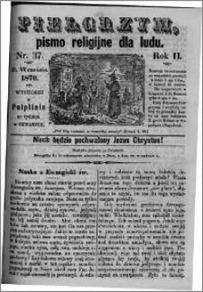Pielgrzym, pismo religijne dla ludu 1870 nr 37