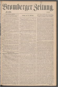 Bromberger Zeitung, 1867, nr 278