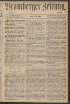 Bromberger Zeitung, 1868, nr 2