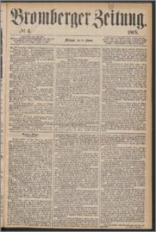 Bromberger Zeitung, 1868, nr 6
