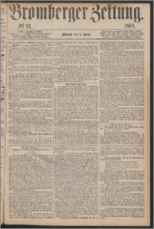 Bromberger Zeitung, 1868, nr 12