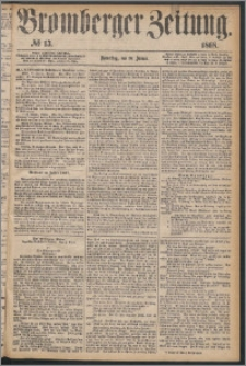 Bromberger Zeitung, 1868, nr 13