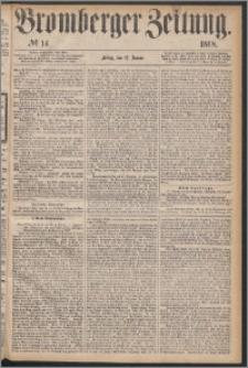 Bromberger Zeitung, 1868, nr 14