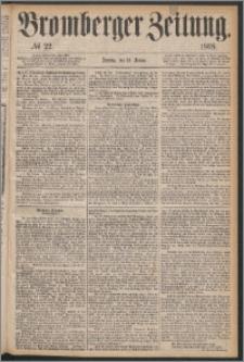 Bromberger Zeitung, 1868, nr 22
