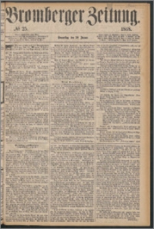Bromberger Zeitung, 1868, nr 25