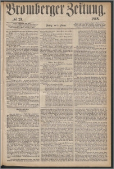 Bromberger Zeitung, 1868, nr 29