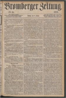 Bromberger Zeitung, 1868, nr 34