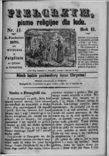 Pielgrzym, pismo religijne dla ludu 1870 nr 41