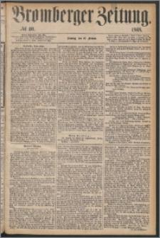 Bromberger Zeitung, 1868, nr 40