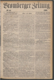 Bromberger Zeitung, 1868, nr 44