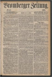 Bromberger Zeitung, 1868, nr 45