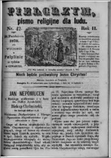 Pielgrzym, pismo religijne dla ludu 1870 nr 42