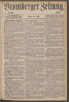 Bromberger Zeitung, 1868, nr 65