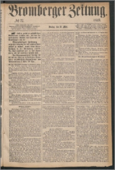 Bromberger Zeitung, 1868, nr 77