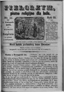 Pielgrzym, pismo religijne dla ludu 1870 nr 44
