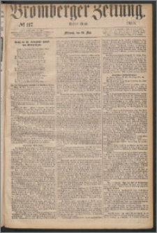 Bromberger Zeitung, 1868, nr 117