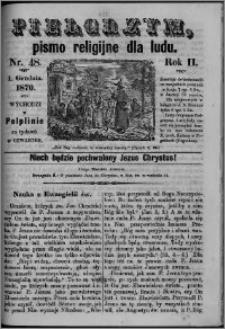 Pielgrzym, pismo religijne dla ludu 1870 nr 48