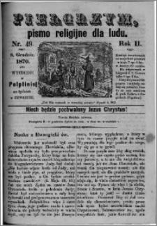 Pielgrzym, pismo religijne dla ludu 1870 nr 49