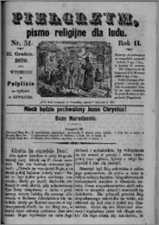 Pielgrzym, pismo religijne dla ludu 1870 nr 51