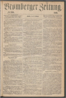 Bromberger Zeitung, 1868, nr 240