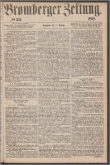 Bromberger Zeitung, 1868, nr 244