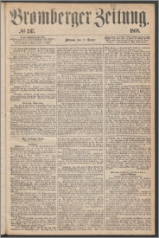 Bromberger Zeitung, 1868, nr 247