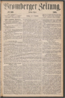 Bromberger Zeitung, 1868, nr 263