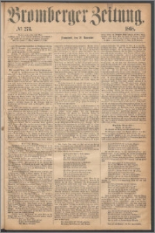 Bromberger Zeitung, 1868, nr 274