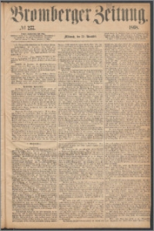 Bromberger Zeitung, 1868, nr 277