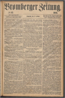 Bromberger Zeitung, 1869, nr 43