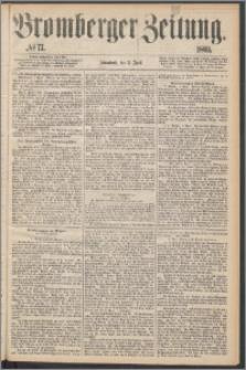 Bromberger Zeitung, 1869, nr 77