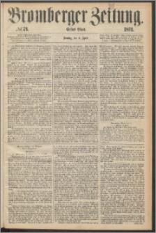 Bromberger Zeitung, 1869, nr 79
