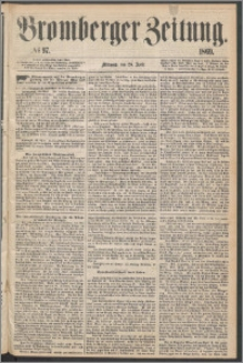 Bromberger Zeitung, 1869, nr 97
