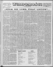 Wiadomości, R. 12 nr 25 (586), 1957