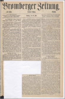 Bromberger Zeitung, 1869, nr 112